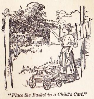 old-time clothesline