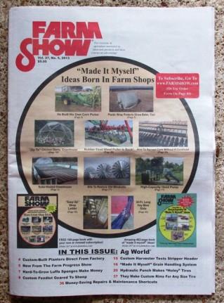 farm show cover