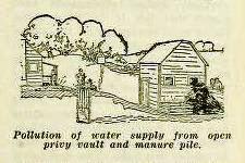 old manure pit