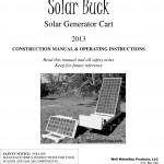 solar buck plans cover