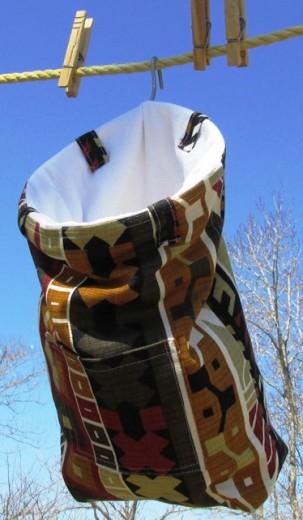 Southwestern_Print_clothespin_bag