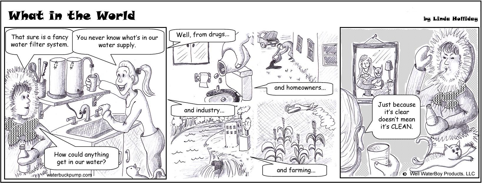 water filter comic
