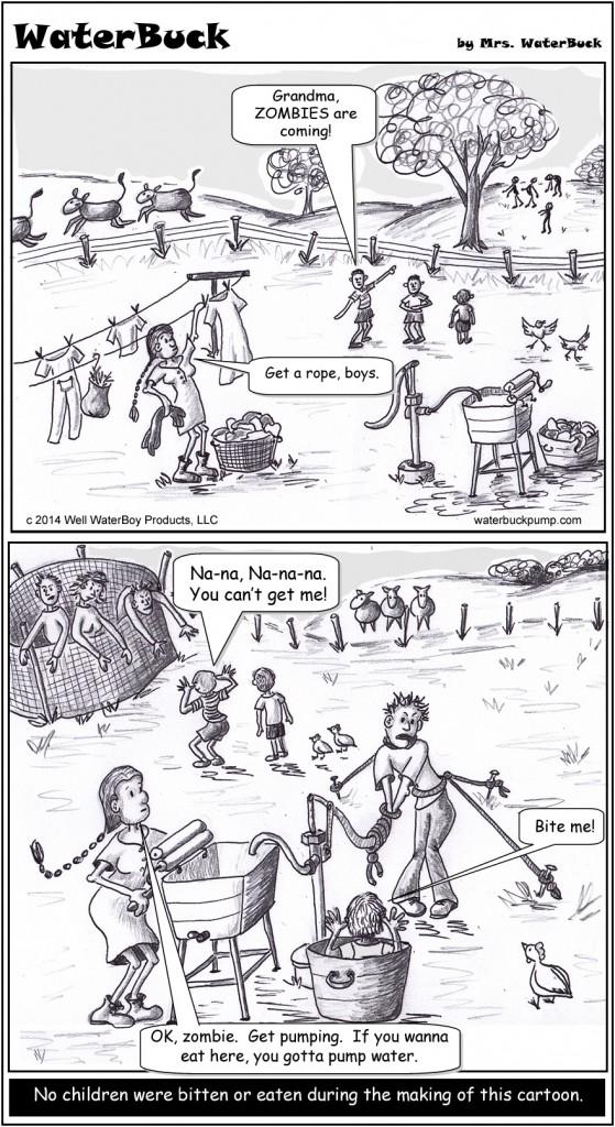 zombies at grandma's comic