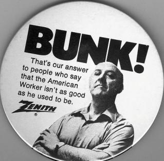 Zenith bunk pin
