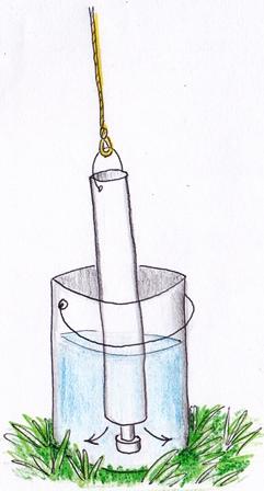 bucket discharge